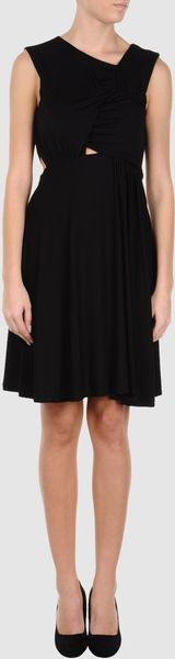 Versus  Short Dress - Lyst