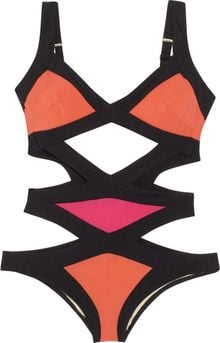 Agent Provocateur Mazzy Cutout Swimsuit - Lyst