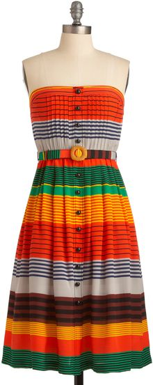 ModCloth Plenty By Tracy Reese Phoenix Sunrises Dress - Lyst