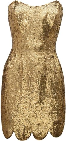 Rachel Gilbert Lexi Sequined Mini Dress - Lyst