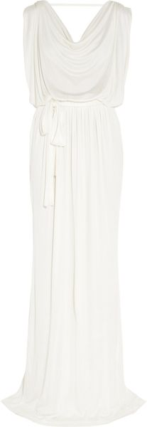 Vionnet Yavme Stretch Silk-blend Gown - Lyst