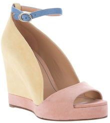See By Chloé Colour Block Sandal - Lyst