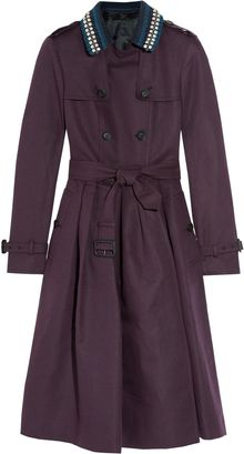Burberry Prorsum Belted Linen and Cottonblend Trench - Lyst
