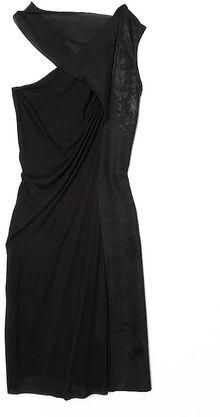 Rick Owens Oneshoulder Scarf Dress - Lyst