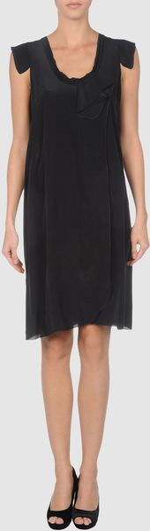 Miu Miu Short Dress - Lyst