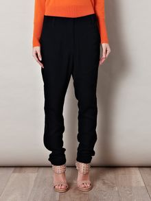 3.1 Phillip Lim Zip Detail Crepe Trousers - Lyst