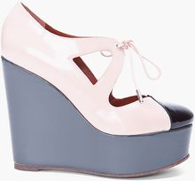 Marc By Marc Jacobs Pale Pink Tower Wedges - Lyst
