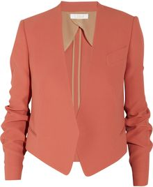 Chloé Tailored Crepe Jacket - Lyst