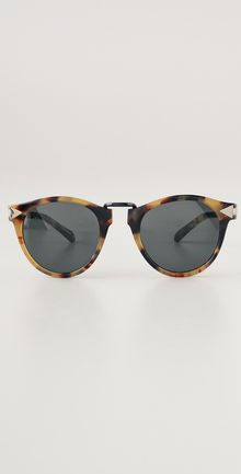Karen Walker Helter Skelter Sunglasses - Lyst