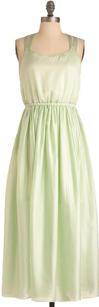 ModCloth Mint Rendition Dress - Lyst
