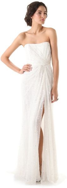 Reem Acra Heaven Sent Dress - Lyst