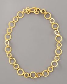 Stephanie Anne Regency Chain Necklace, 18l - Lyst