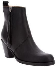 Acne Pistol Ankle Boot - Lyst