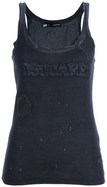 DSquared2 Vest Top - Lyst