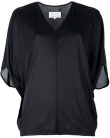 Maison Martin Margiela Batwing Sleeved Sweater - Lyst