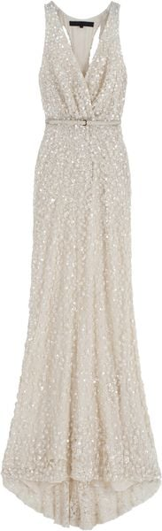 Elie Saab Fully Beaded Long Dress 9 - Lyst