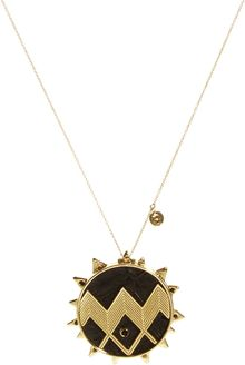 House Of Harlow  Zig Zag Starburst Pendant Necklace - Lyst