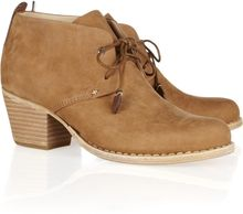 Rag & Bone Leighton Nubuck Leather Ankle Boots - Lyst