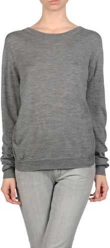 3.1 Phillip Lim Long Sleeve Jumper - Lyst