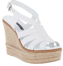 Ralph Lauren Multi Strap Wedge - Lyst