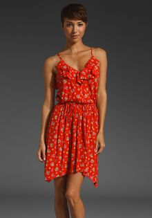Rebecca Taylor Summer Blossom Dress - Lyst