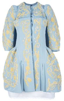 Meadham Kirchhoff Madonna Ottoman Dress Coat - Lyst