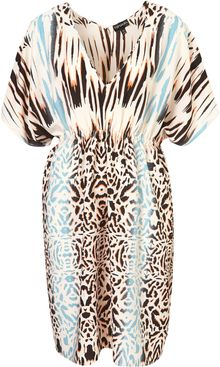 Topshop Animal Print Cover Up - Lyst