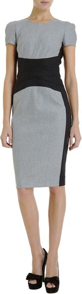 Narciso Rodriguez Cap Sleeve Dress - Lyst
