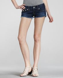 True Religion Joey Pioneer Cutoff Shorts - Lyst
