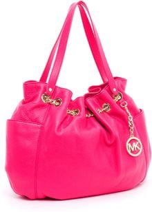Michael by Michael Kors Jet Set Chain Ring Tote Zinnia - Lyst