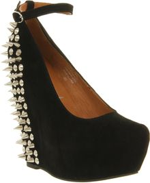 Jeffrey Campbell Aubrey Spike Wedges - Lyst