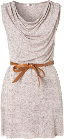 Topshop Belted Wrap Dress  - Lyst