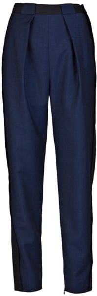 Balenciaga Two Tone Trouser - Lyst