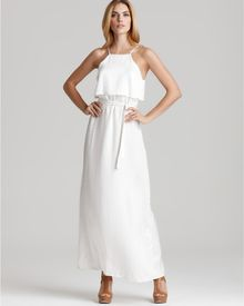 Kimberly Taylor Dress Belted Maxi Maui - Lyst