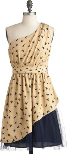 ModCloth Wing Of Beauty Dress - Lyst