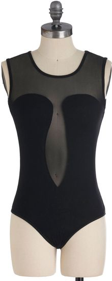 ModCloth Take Center Stage Bodysuit - Lyst
