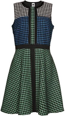 M Missoni Dogtooth Aline Dress - Lyst