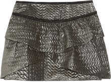 Isabel Marant Bilbao Metallic Brocade Mini Skirt - Lyst