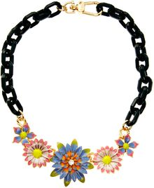 Asos Garden Flower Necklace - Lyst
