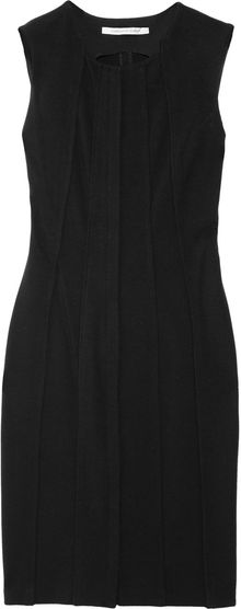 Diane Von Furstenberg Alexandria Heavyweight Stretchjersey Dress - Lyst