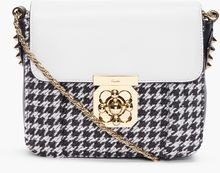 Chloé Houndstooth Elsie Evening Bag - Lyst