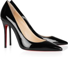 Christian Louboutin Decollete 100 Patentleather Pumps - Lyst