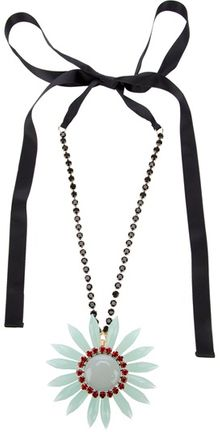 Marni Flower Necklace - Lyst