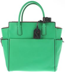 Reed Krakoff Atlantique Tote in Deep Green Calfskin with Black Trimming - Lyst