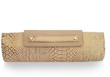 Julie K Handbags Natalie Gold Cobra - Lyst