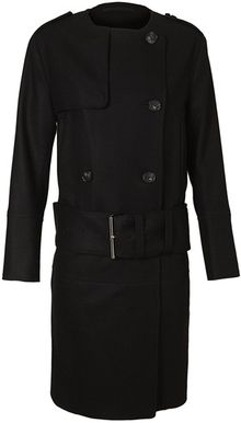 Acne Cary Woolcashmere Trench Coat - Lyst