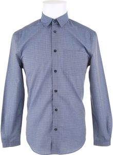 Carven Check Cotton Shirt - Lyst
