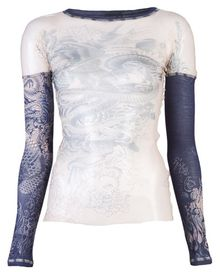 Jean Paul Gaultier Mesh Top - Lyst
