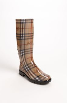 Burberry Tall Rain Boot - Lyst