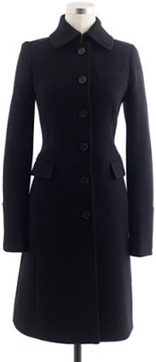 J.Crew Doublecloth Metro Coat with Thinsulate - Lyst